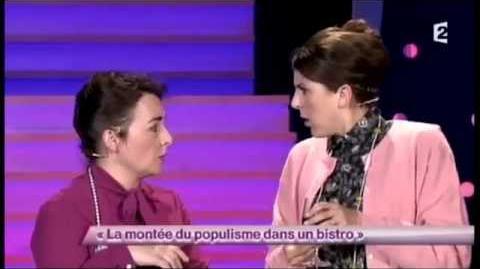 Nicole Ferroni 49 et Sandra Colombo La montée du populisme dans un bistro - ONDAR