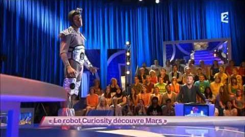 Nicolas Van Beveren -1- Le robot Curiosity découvre Mars - ONDAR - 12 Septembre 2012