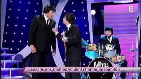 Les fils des Beatles veulent chanter ensemble