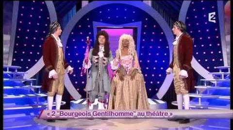 """2 """"Bourgeois Gentilhomme"""" au théâtre"""