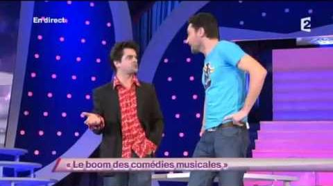 Garnier et Sentou 100 sur 100 Le boom des comédies musicales ONDAR