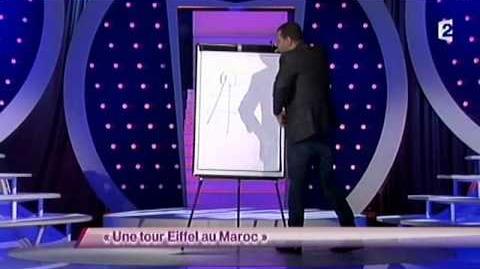 Une tour Eiffel au Maroc