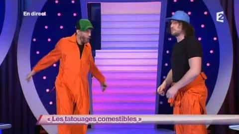 Les Escrocs 3 - Les tatouages comestibles - ONDAR - 12 février 2013