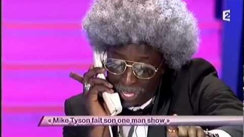 Mike Tyson fait son one man-show