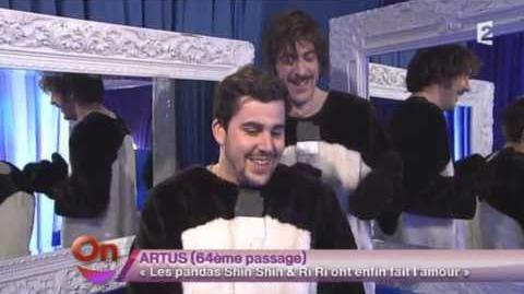 Artus et Mathieu Penchinat 64 - Les pandas Shin Shin & Ri Ri ont fait l'amour - ONDAR - 18 mars13