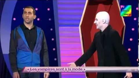 Cyril Etesse avec Les Décaféinés 8 - Les vampires sont à la mode - ONDAR