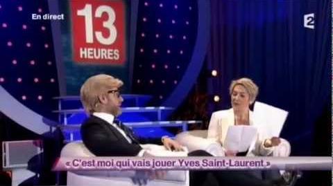 C'est moi qui vais jouer Yves Saint-Laurent
