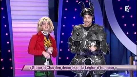 Stone et Charden décorés à la Légion d'honneur