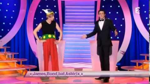 James Bond bat Astérix
