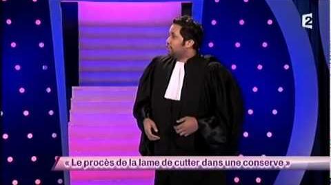 Kevin Razy - 4 Le procès de la lame de cutter dans une conserve - ONDAR
