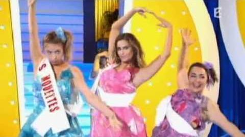 Les Kicékafessa, Nicole Ferroni et Constance 18 19 34 - Election de Miss Camping