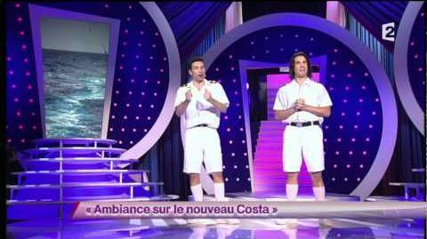 Lamine Lezghad & Jérémy Ferrari - 5 Ambiance sur le nouveau Costa On n'demande qu'à en rire