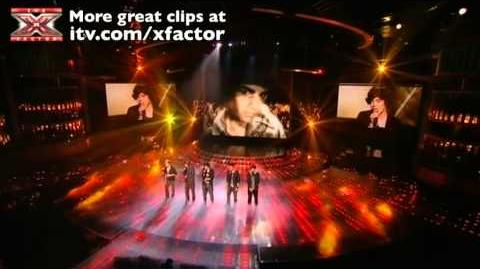 One Direction sing You Are So Beautiful - The X Factor Live show 8 - itv
