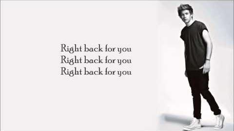 One Direction - Back For You ( Lyrics Pictures )