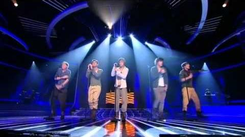 One Direction sing My Life Would Suck Without You - The X Factor Live show 2 (Full Version)