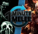 ONE MINUTE MELEE: The Punisher vs Deathstroke