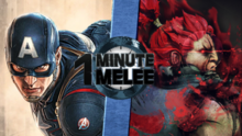 Captain America vs Akuma-0