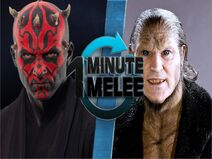 One Minute Melee Darth Maul vs Fenrir Greyback