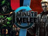 ONE MINUTE MELEE: Doctor Doom vs Albert Wesker