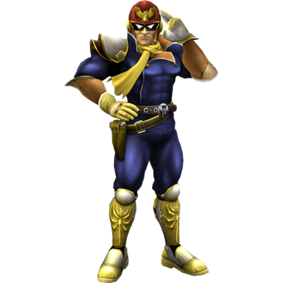 Captain Falcon Clear SSBB