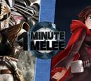 White Ranger vs. Ruby Rose