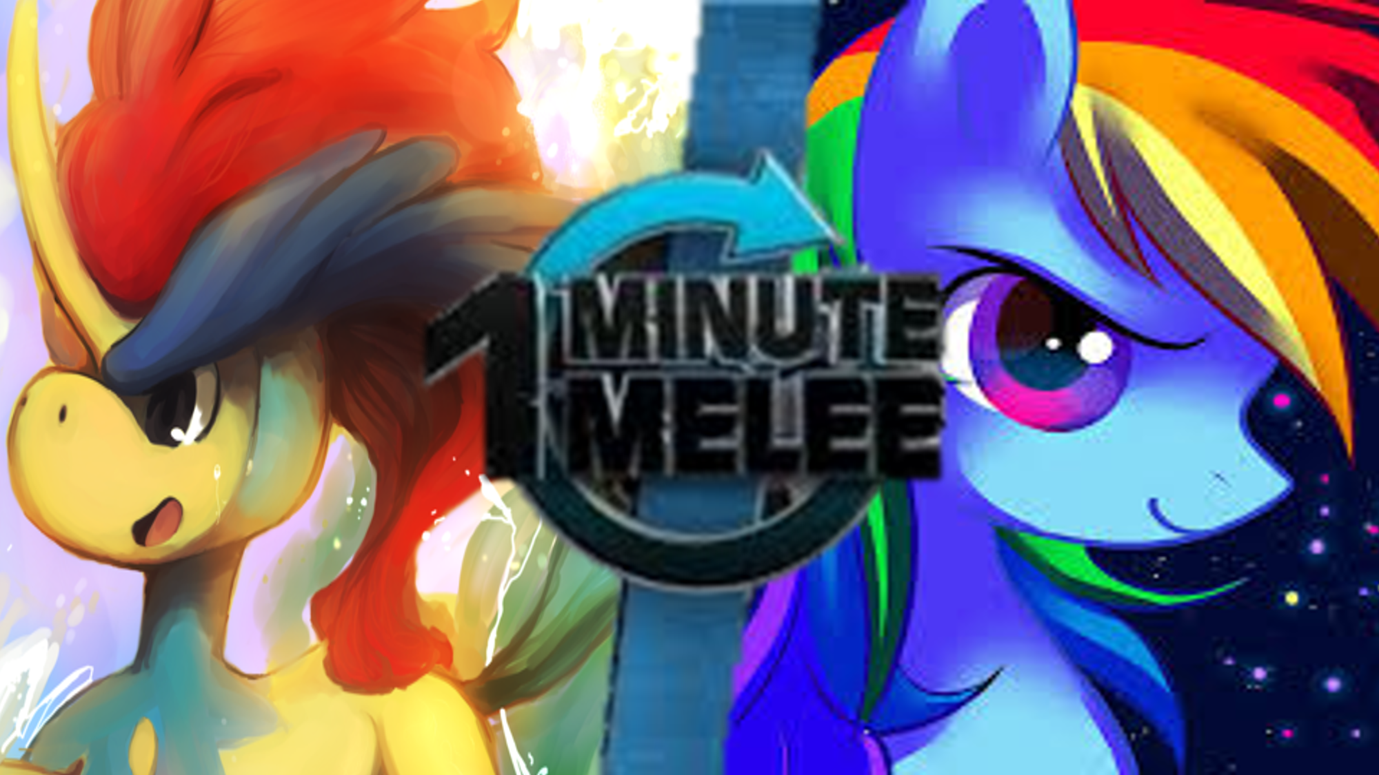 Keldeo vs Rainbow Dash   One Minute Melee Fanon Wiki ...