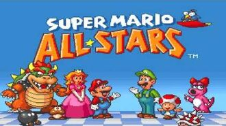 Super Mario All-Stars Music - Game Selection