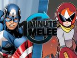 Captain America VS Proto Man