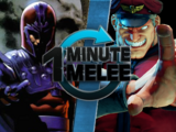 Magneto vs. M. Bison