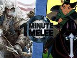 Connor Kenway vs. Mulan
