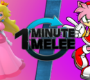 ONE MINUTE MELEE (Season №1 Episode 14): Peach VS Amy