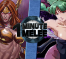 Angela vs Morrigan