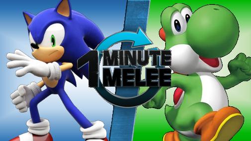 1MM - Sonic Vs Yoshi