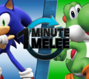 ONE MINUTE MELEE: Sonic the Hedgehog vs Yoshi