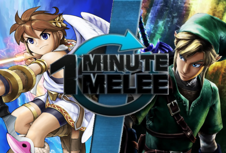 One Minute Melee-Pit vs. Link