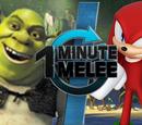 ONE MINUTE MELEE: Knuckles the Echidna vs. Shrek