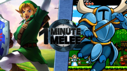 Link VS Shovel Knight Remastered