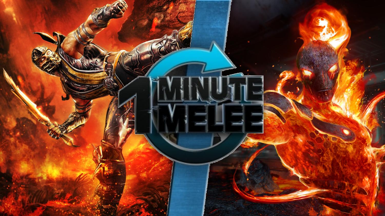 Scorpion vs Cinder | One Minute Melee Fanon Wiki | FANDOM