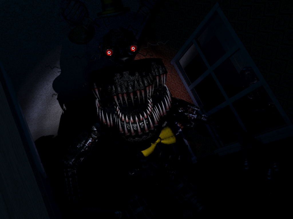 nightmare fnaf one minute melee fanon wiki fandom powered by wikia