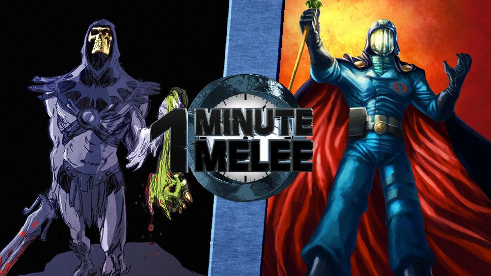 Skeletor vs. Cobra Commander | One Minute Melee Fanon Wiki ...