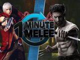 One Minute Melee - Dante Vs Wolverine (Devil May Cry vs Marvel)