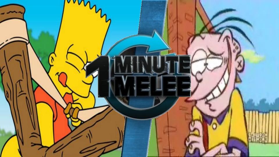 Bart Simpson vs Eddy | One Minute Melee Fanon Wiki | FANDOM