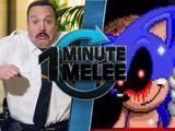Paul Blart vs Sonic.EXE