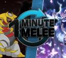 ONE MINUTE MELEE: Giratina vs Yuyuko Saigyouji