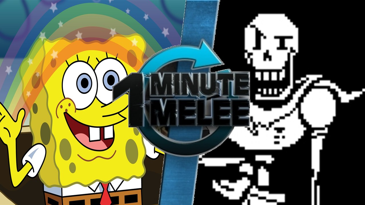 spongebob vs papyrus one minute melee fanon wiki fandom powered