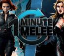 ONE MINUTE MELEE: Black Widow vs Black Canary