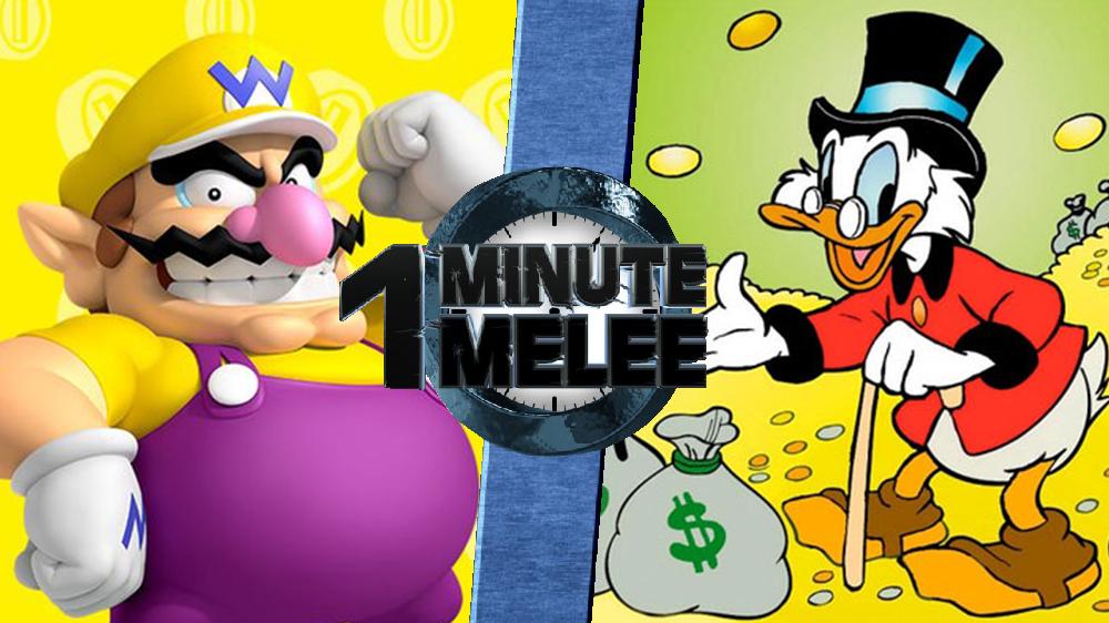 Scrooge Mcduck One Minute Melee Fanon Wiki Fandom Powered By Wikia