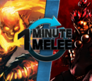 ONE MINUTE MELEE: Ghost Rider vs. Akuma