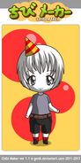 Birthday Boy Blam CHIBI