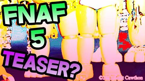 FNAF 5 CONFIRMED? FNAF 5 SECRET TEASER Five Nights At Freddy's 5 CONFIRMED SECRET in TEASER